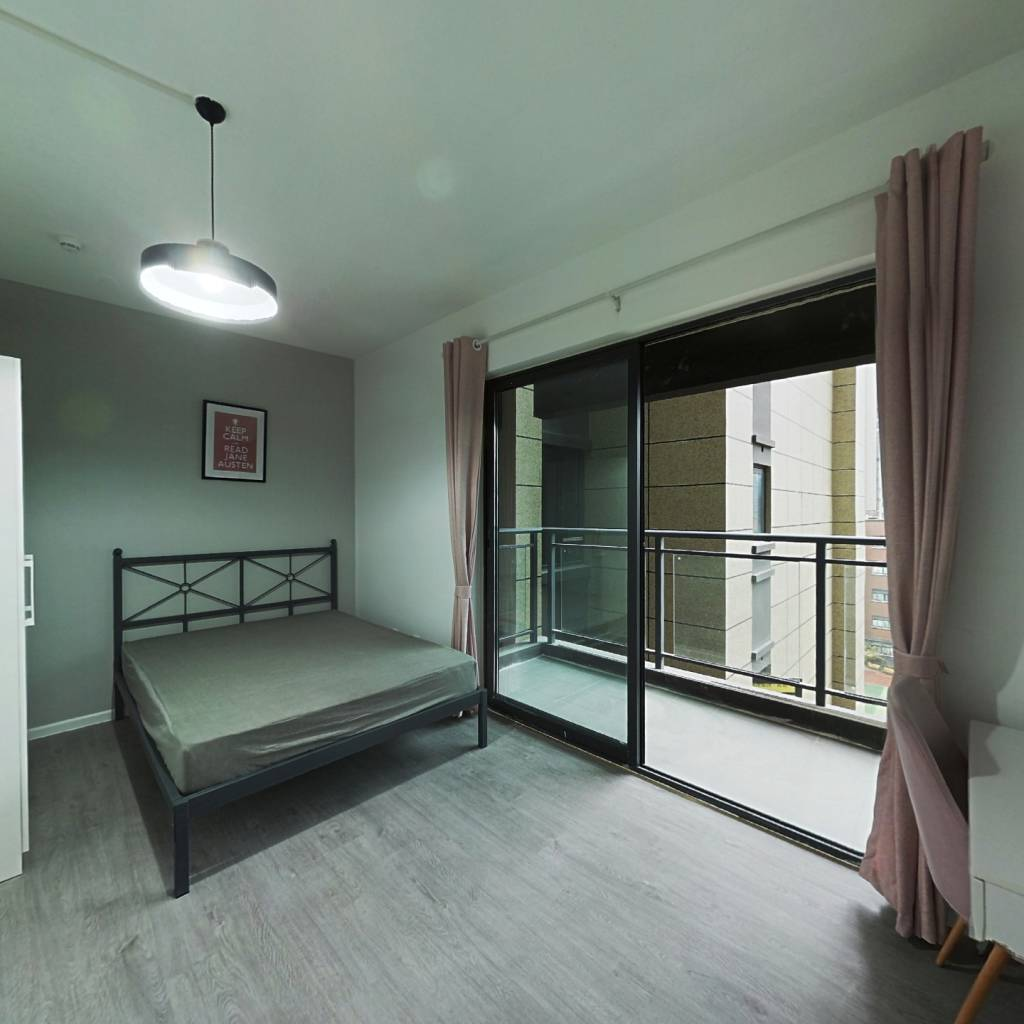 合租·央湖名邸二期 4室1厅 西卧室图