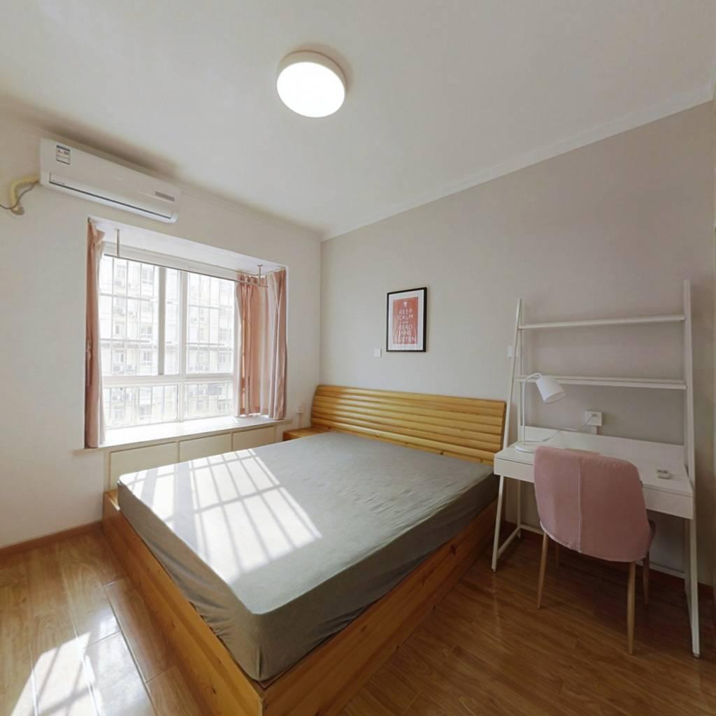 合租·统建同安家园 3室1厅 南卧室图