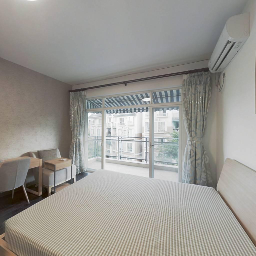 合租·南国奥林匹克花园 4室1厅 北卧室图