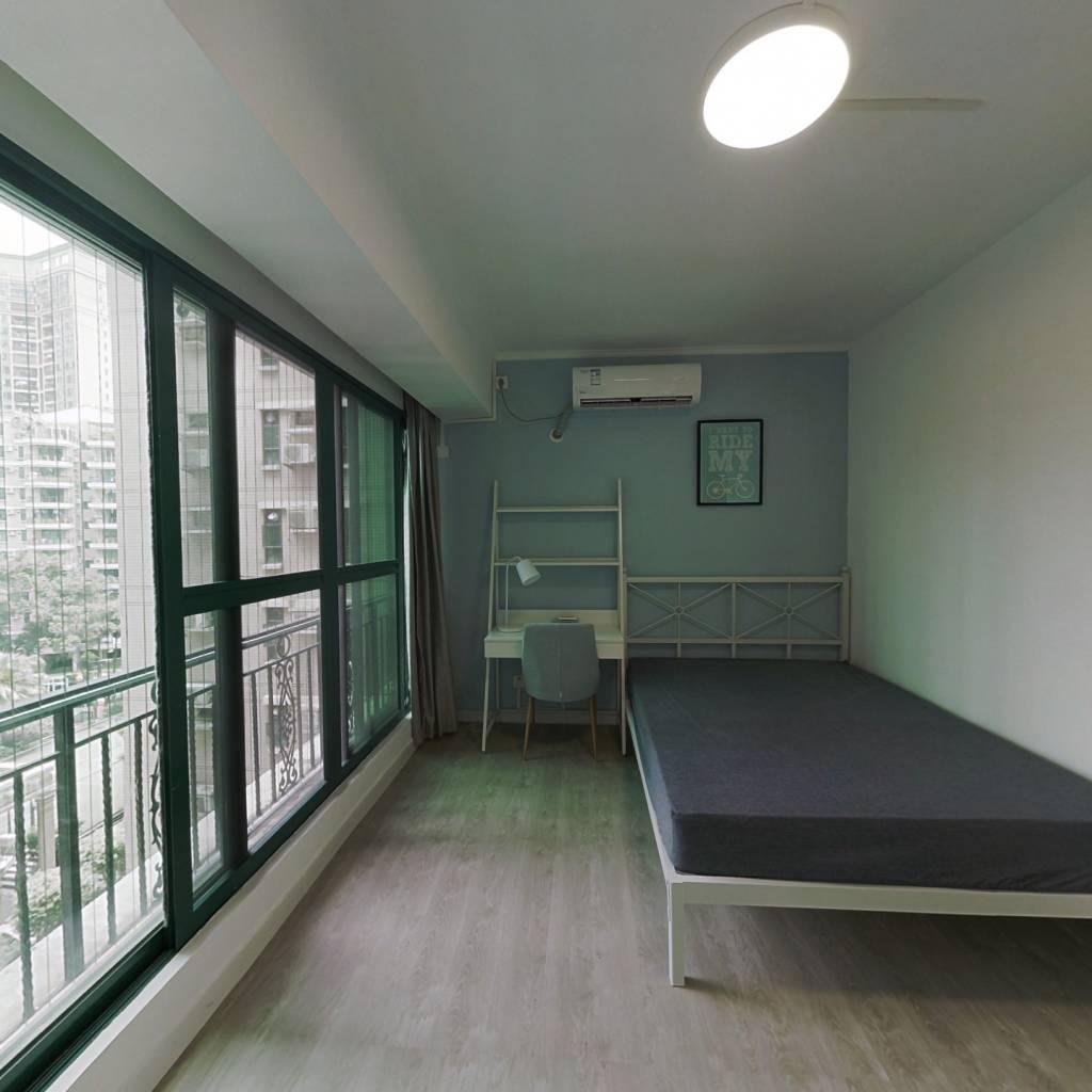 合租·锦城花园 4室1厅 西卧室图