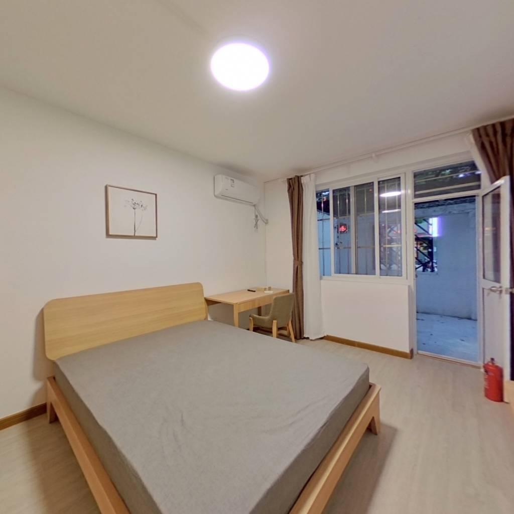 整租·园西小区 2室1厅 南卧室图