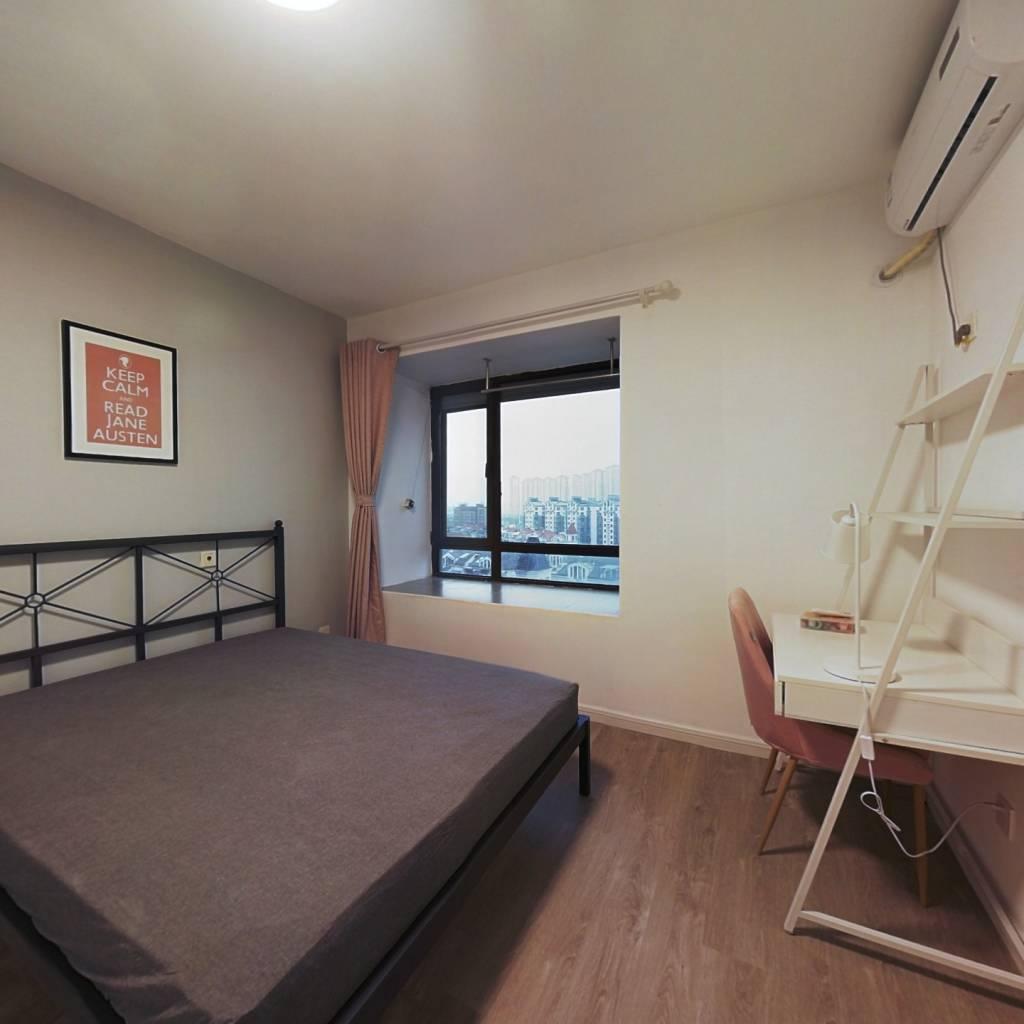 合租·21世纪国际公寓 3室1厅 东南卧室图