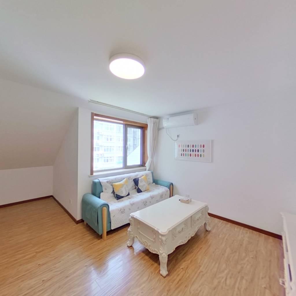 整租·新景家园西区 1室1厅 南北卧室图