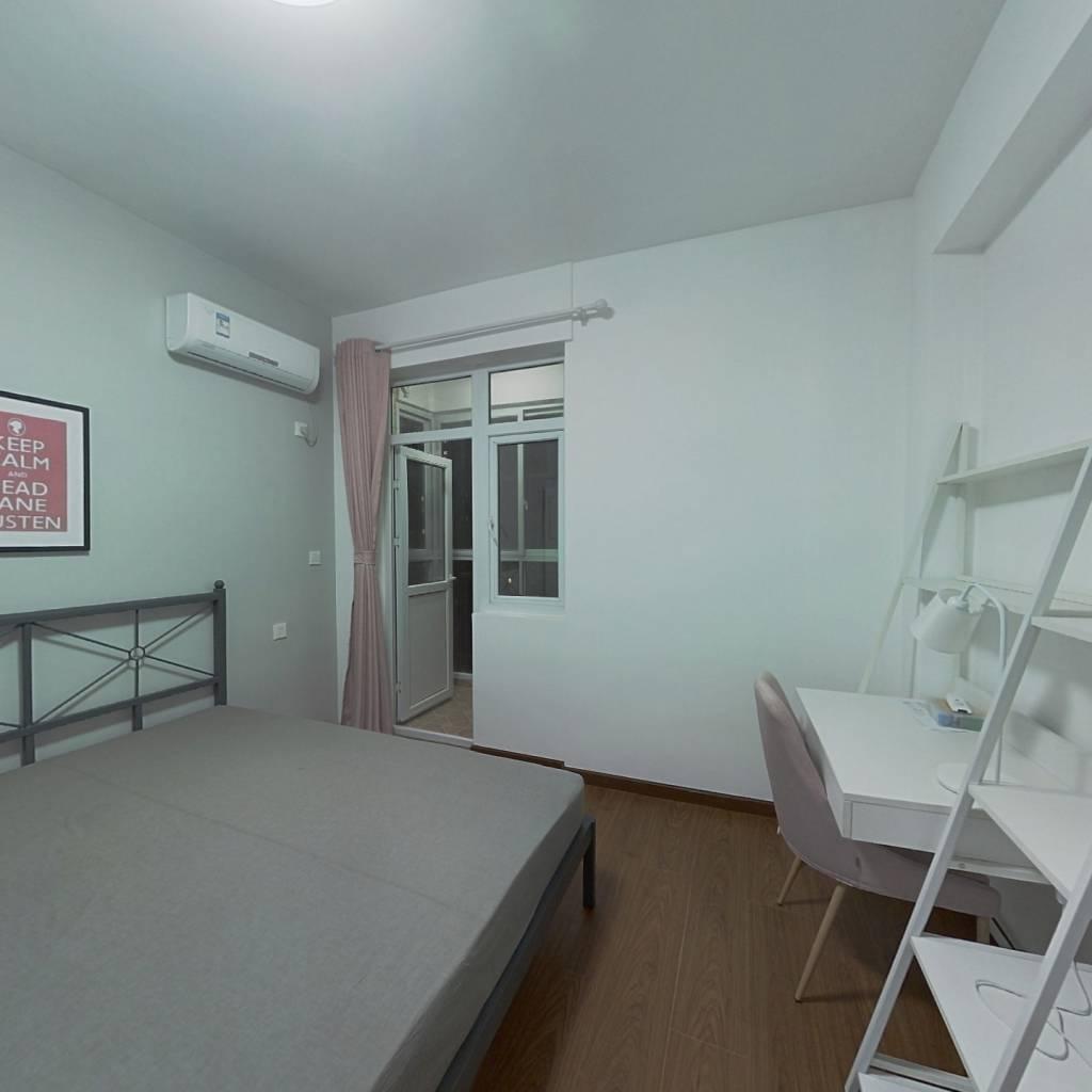 合租·瑞园小区 4室1厅 北卧室图