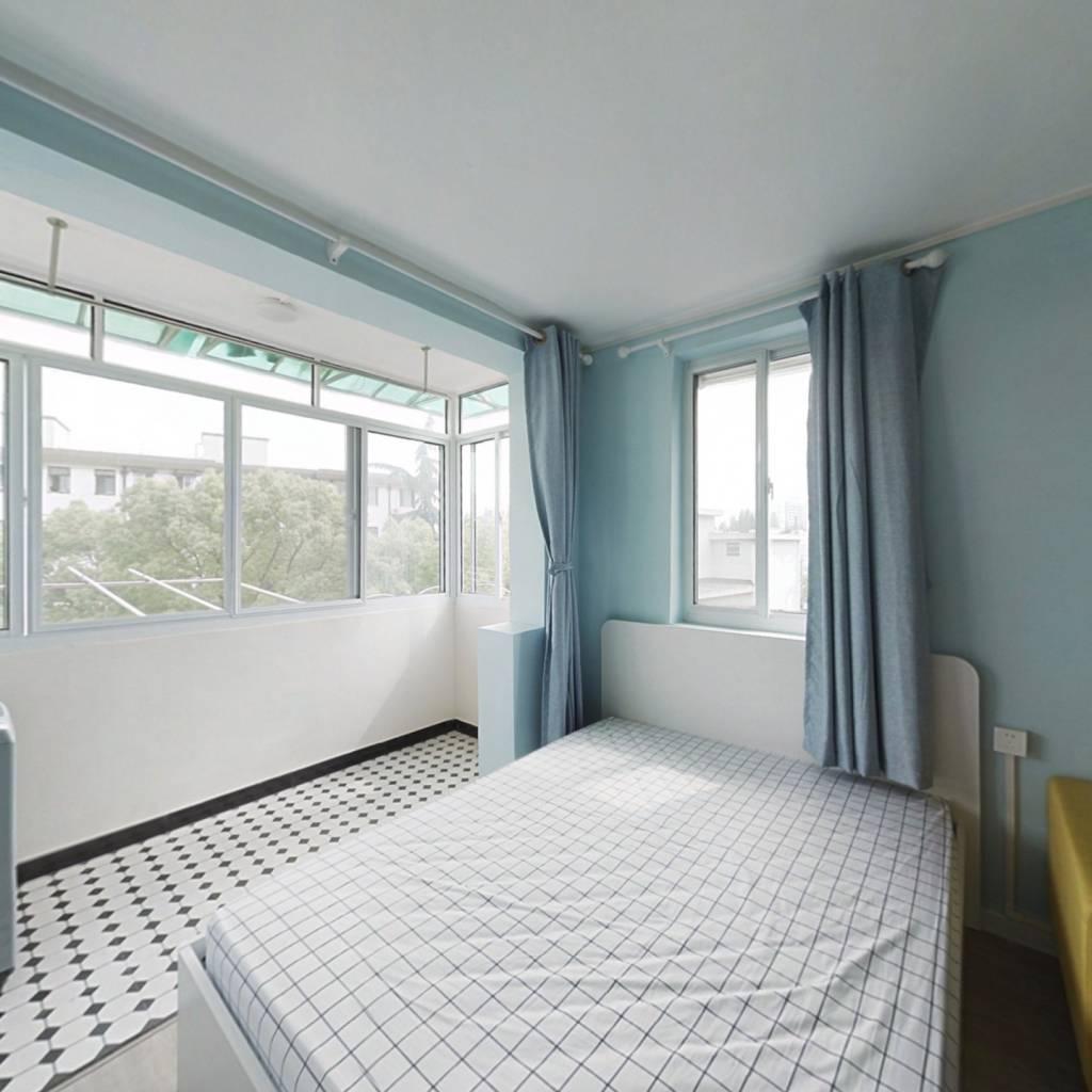整租·田林十一村 2室1厅 南北卧室图