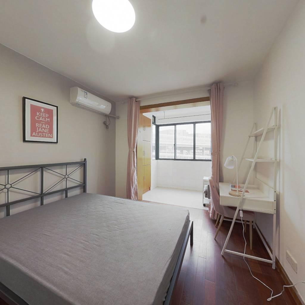 合租·春港丽园(公寓) 4室1厅 南卧室图
