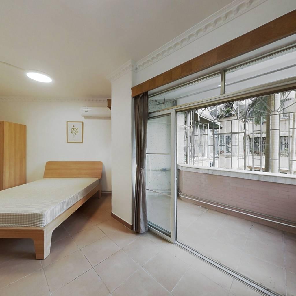 合租·暨南花园 4室1厅 西卧室图