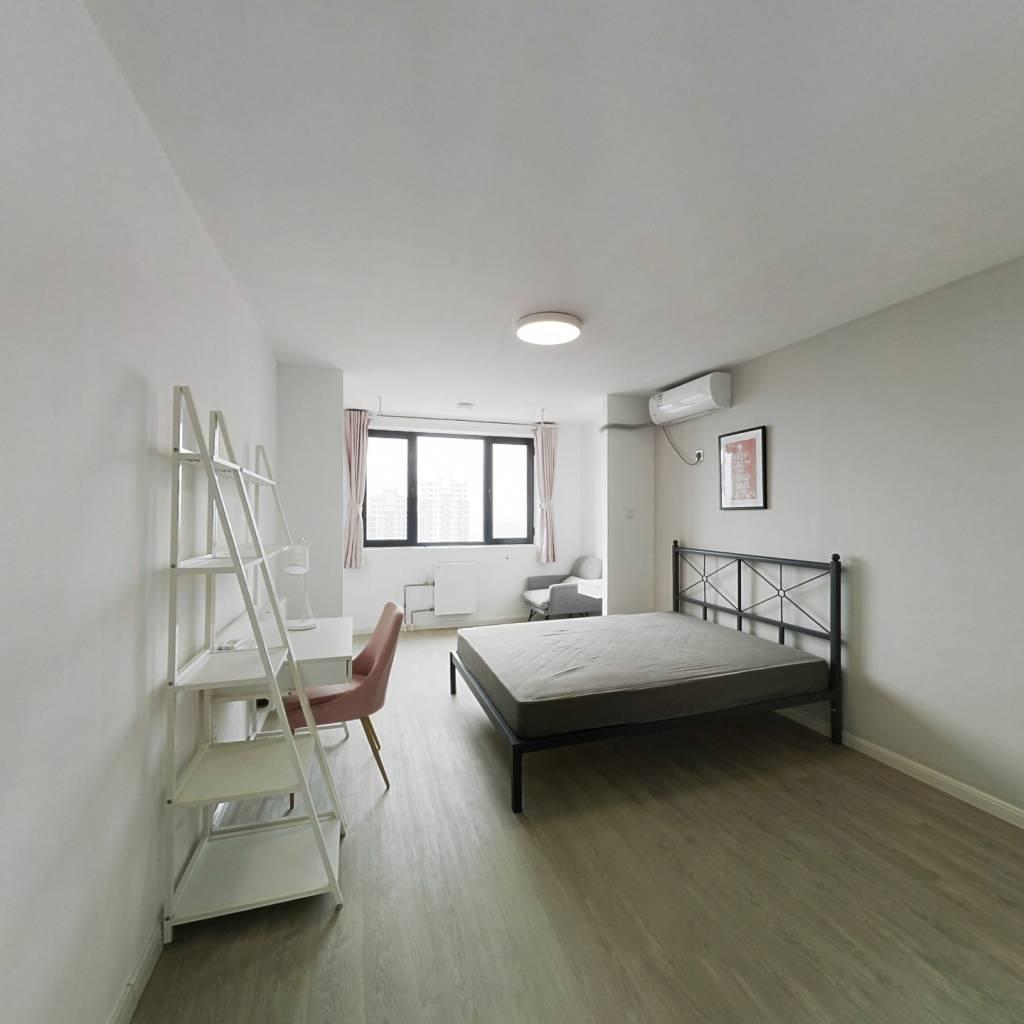 合租·北花园小区 4室1厅 南卧室图