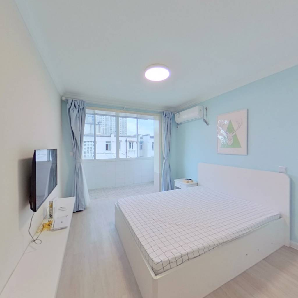 整租·南茶园 1室1厅 南卧室图