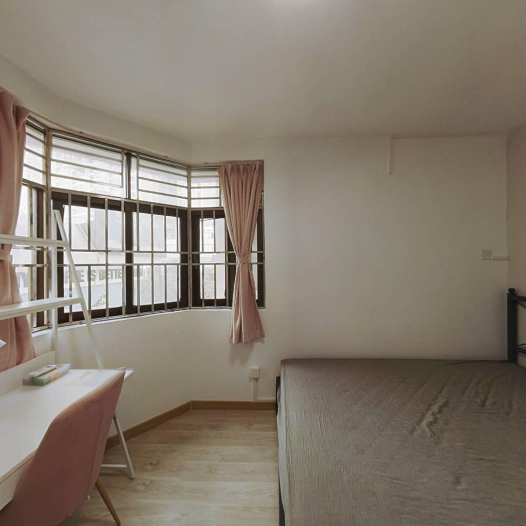 合租·紫竹园 3室1厅 南卧室图