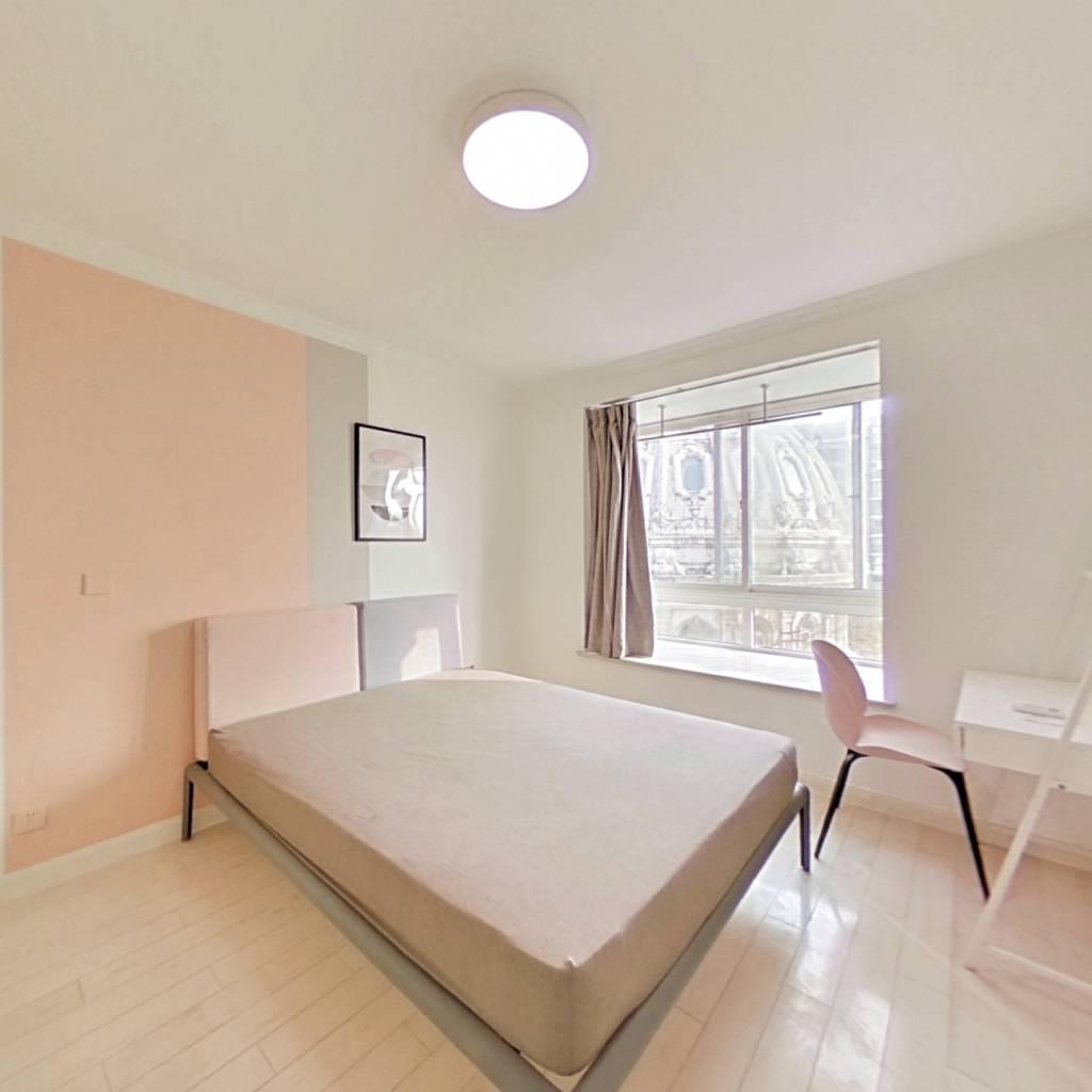 合租·明丰花园 5室1厅 南卧室图