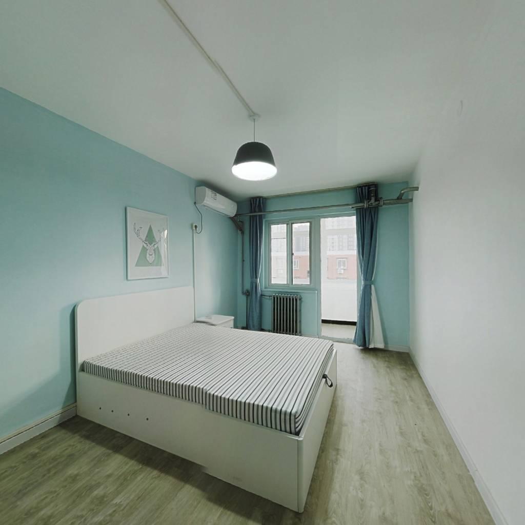整租·八里庄北里小区 2室1厅 南卧室图