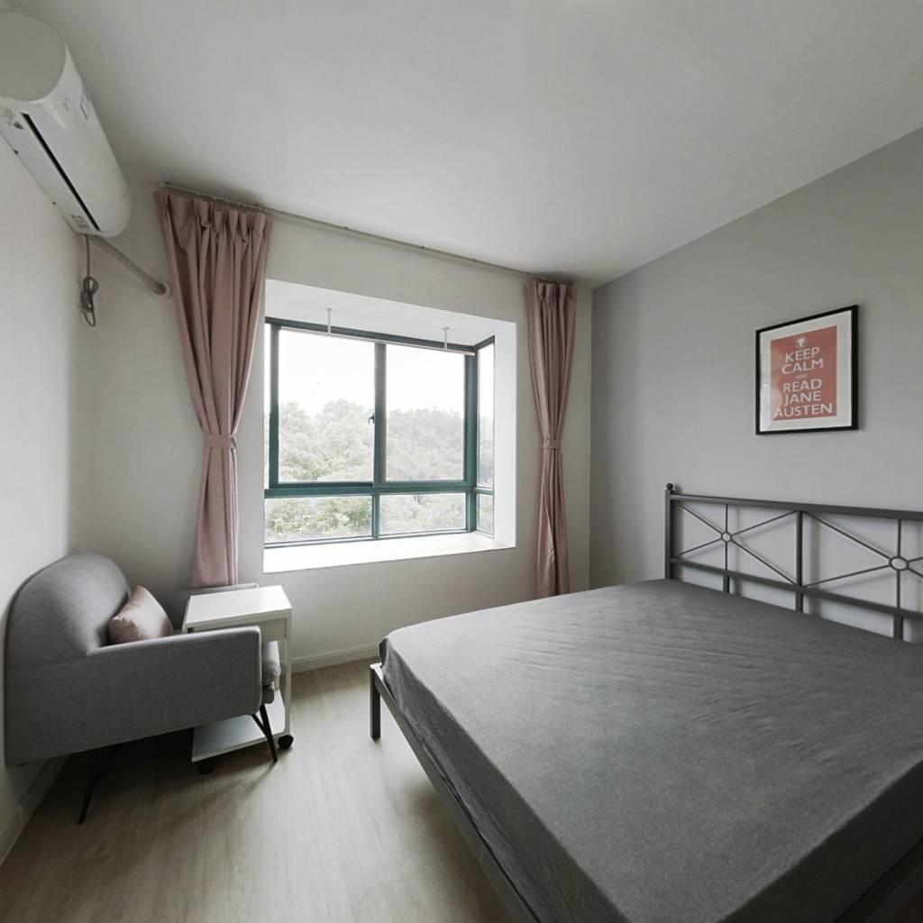合租·滨康二苑 3室1厅 南卧室图