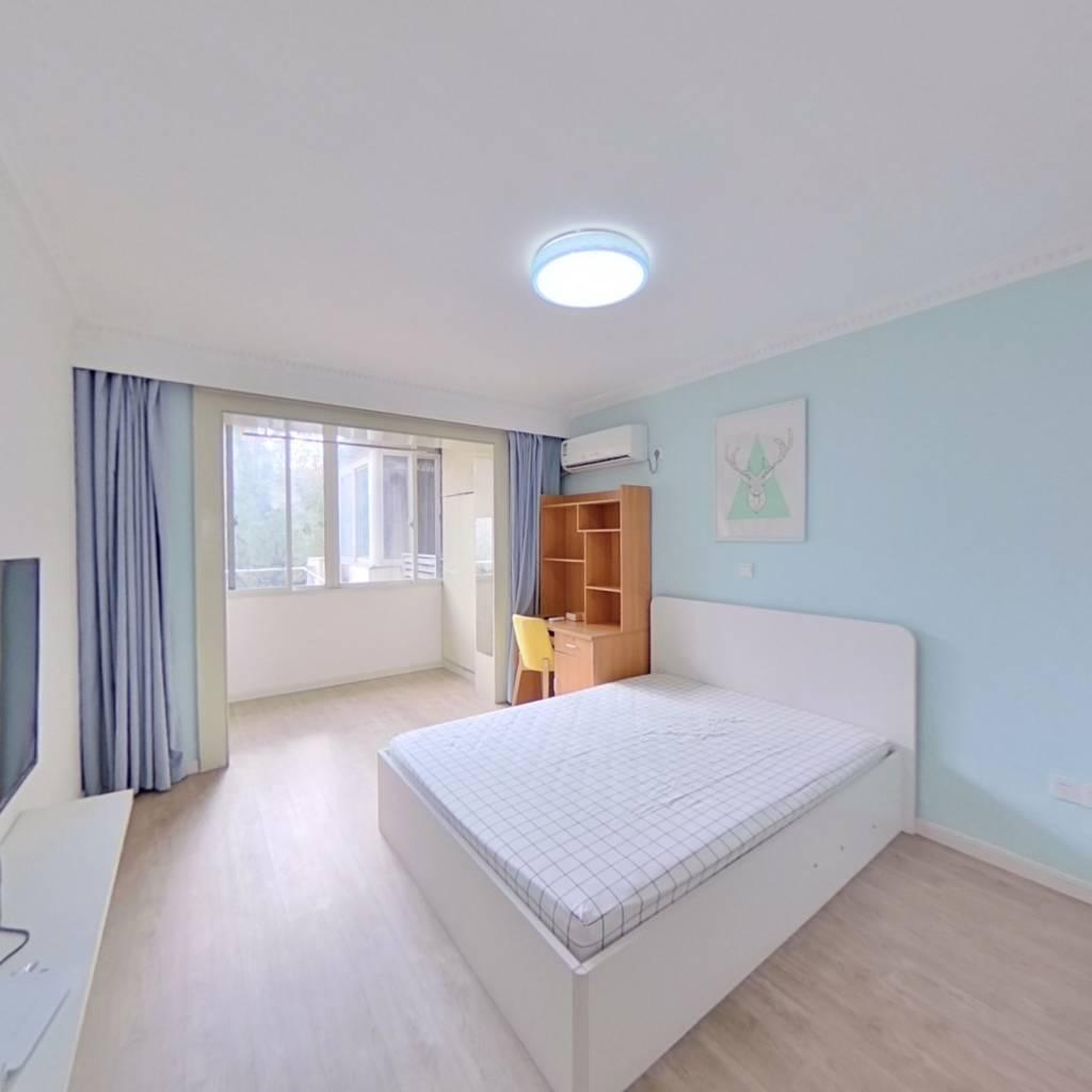 整租·南方新村 1室1厅 南卧室图