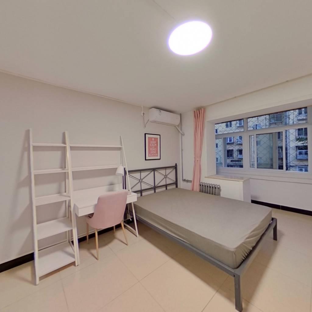 合租·小南庄社区 3室1厅 北卧室图