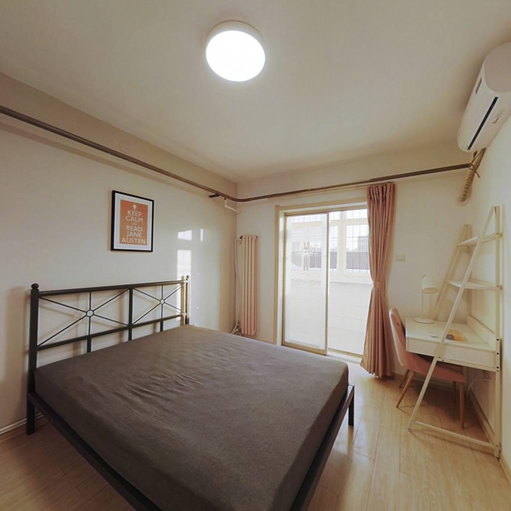 合租·金谷园 3室1厅 北卧室图