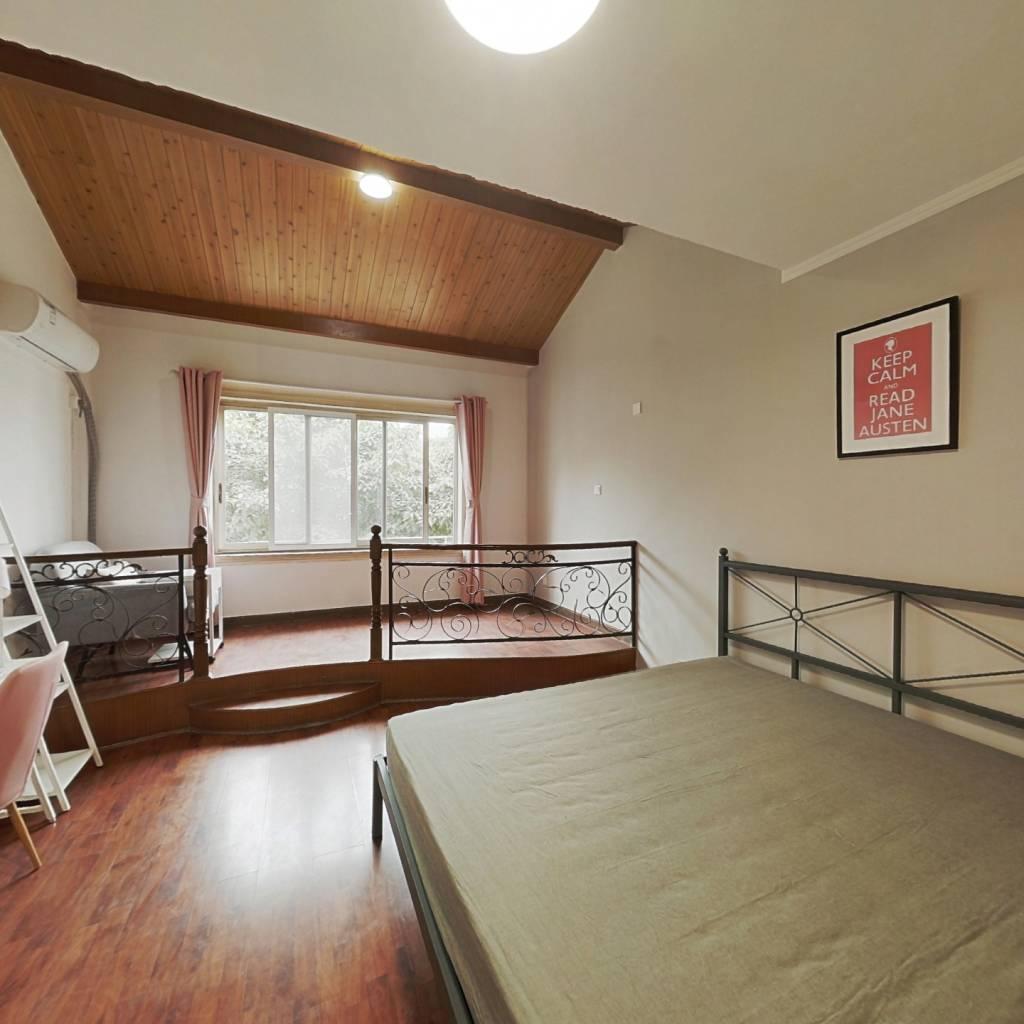 合租·锦城苑(金牛) 4室1厅 西卧室图