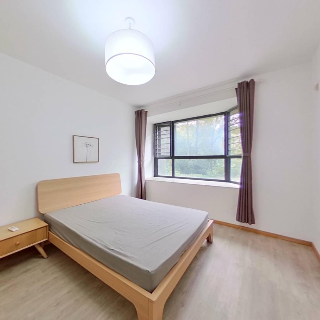 整租·朗庭上郡苑(公寓) 2室1厅 南卧室图