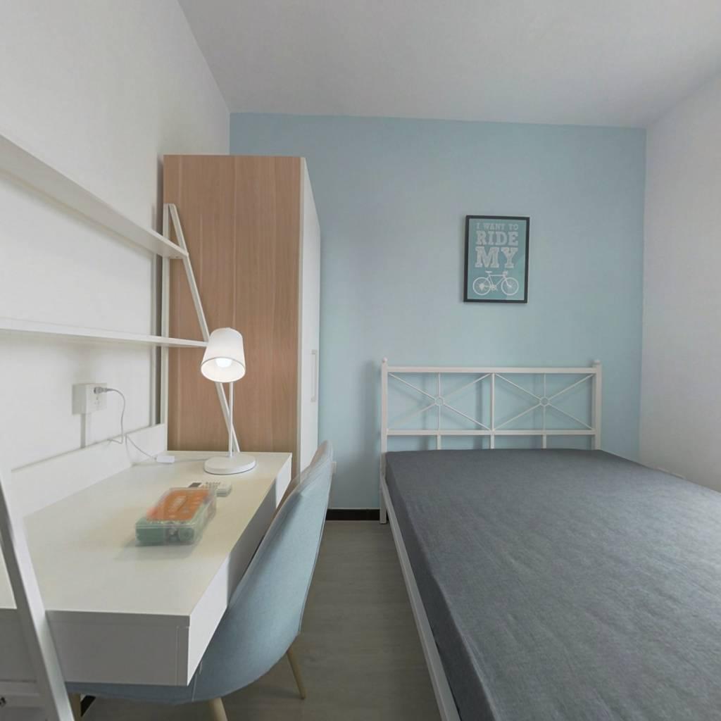 合租·水畔经典 4室1厅 南卧室图