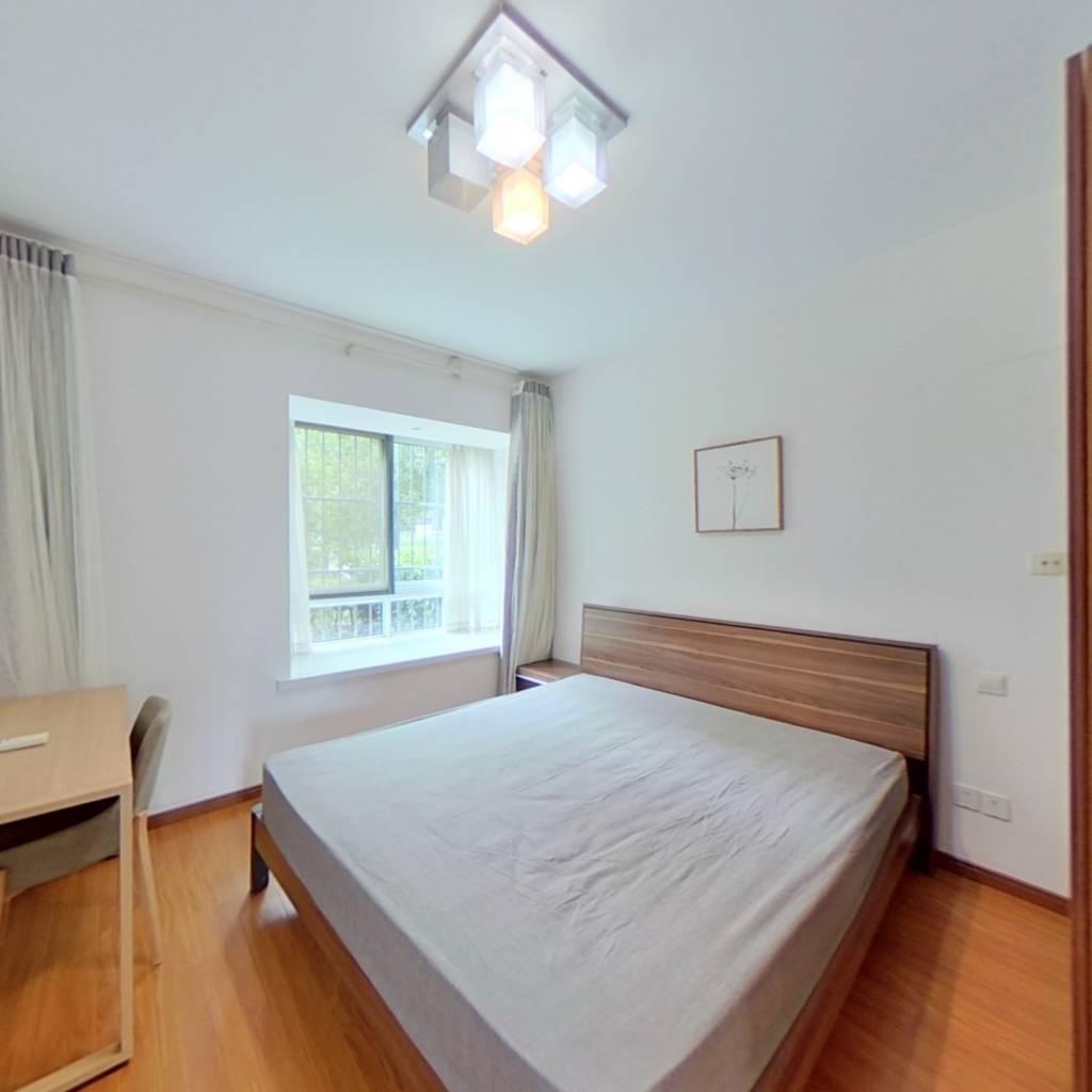 整租·中冶尚城 2室1厅 南北卧室图