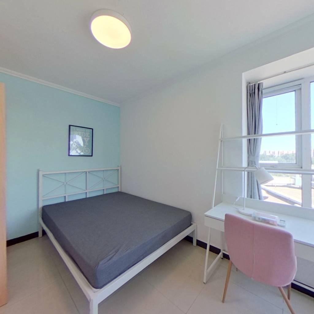 合租·国美第一城2号院 3室1厅 东北卧室图