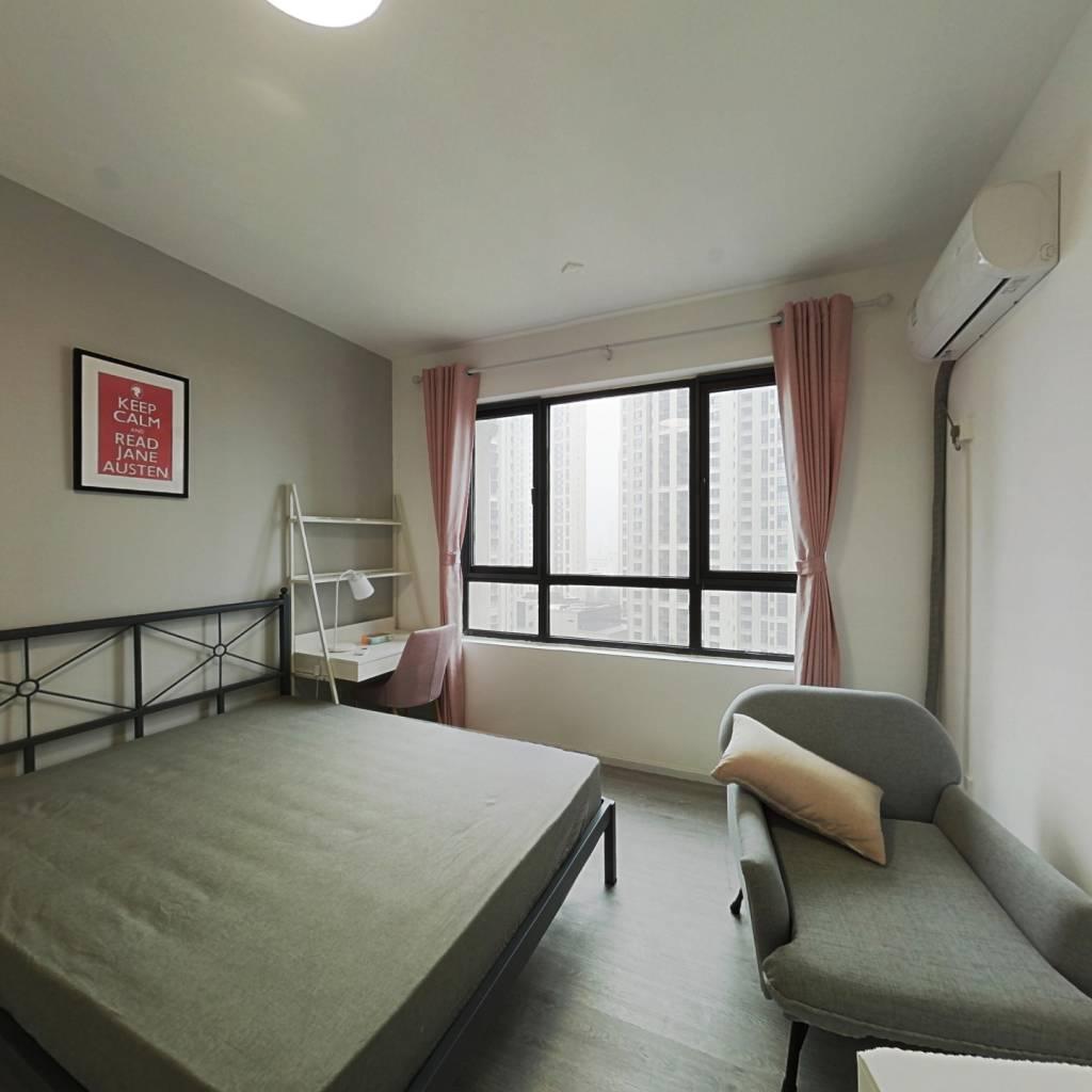 合租·鲁能公馆 4室1厅 北卧室图