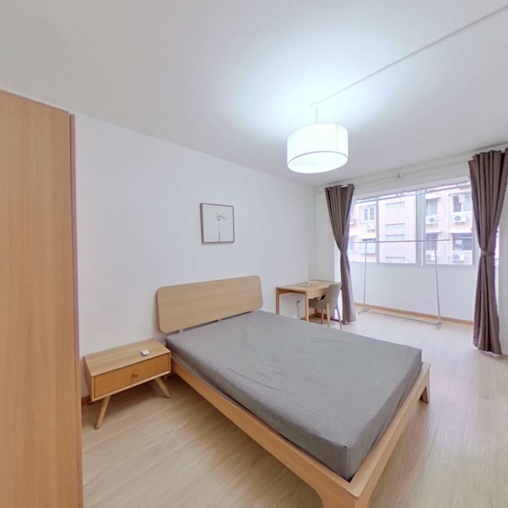 整租·乐山四五村 2室1厅 南北卧室图
