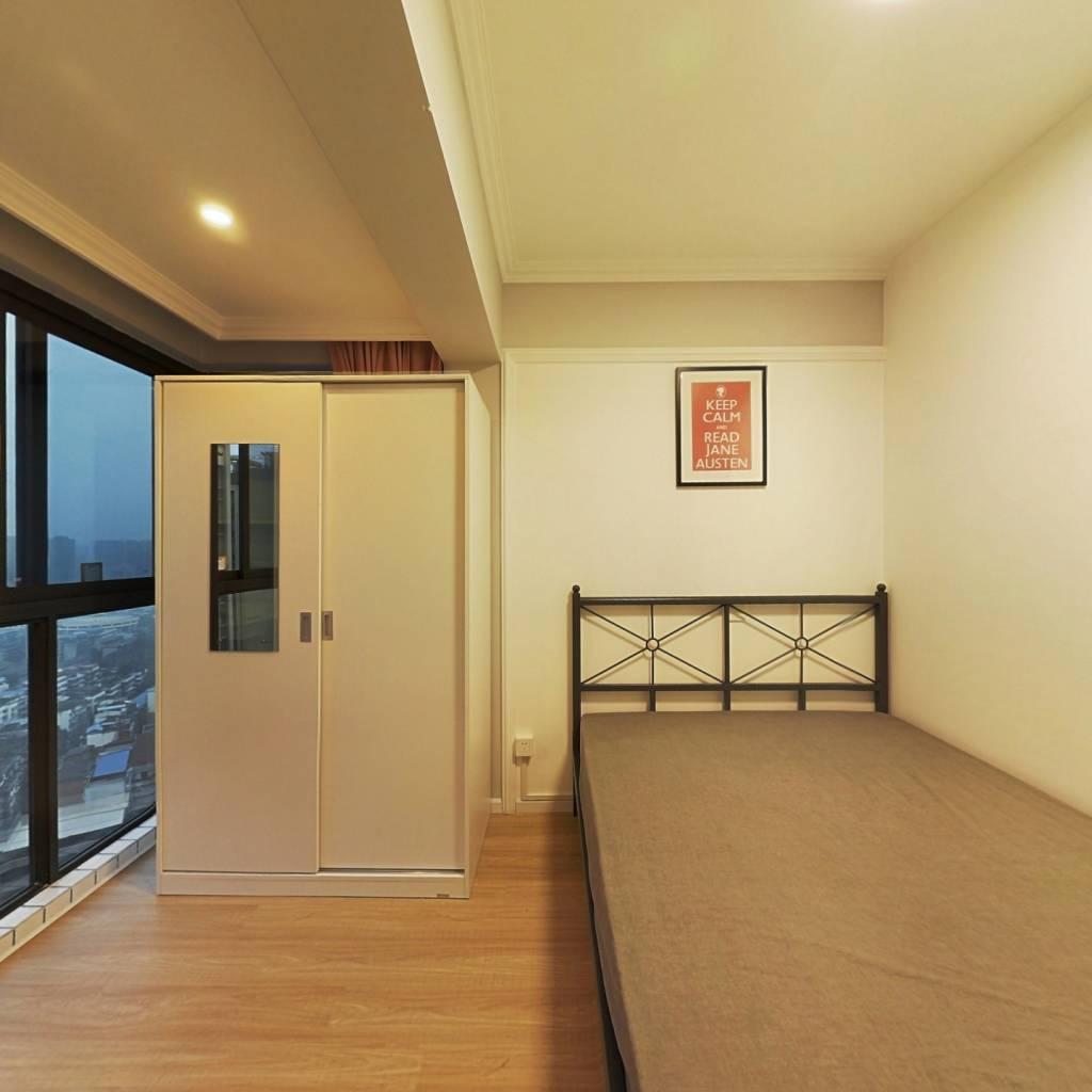 合租·北成星中心 3室1厅 北卧室图