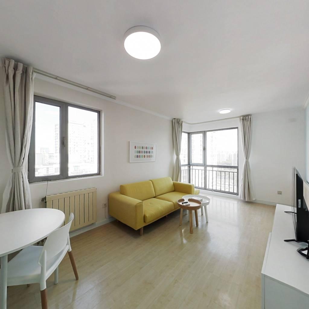 整租·炫特嘉园一期 1室1厅 东北卧室图
