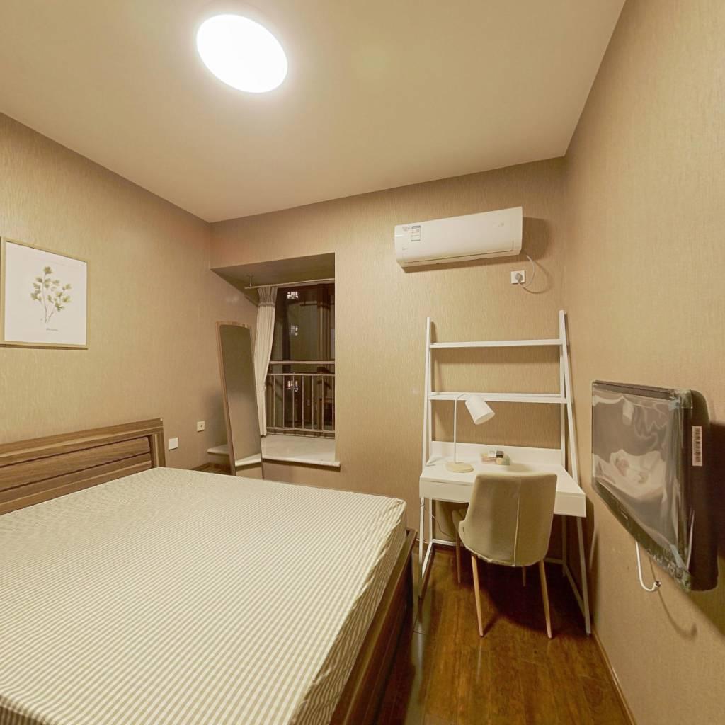 合租·华润二十四城二期 3室1厅 东南卧室图