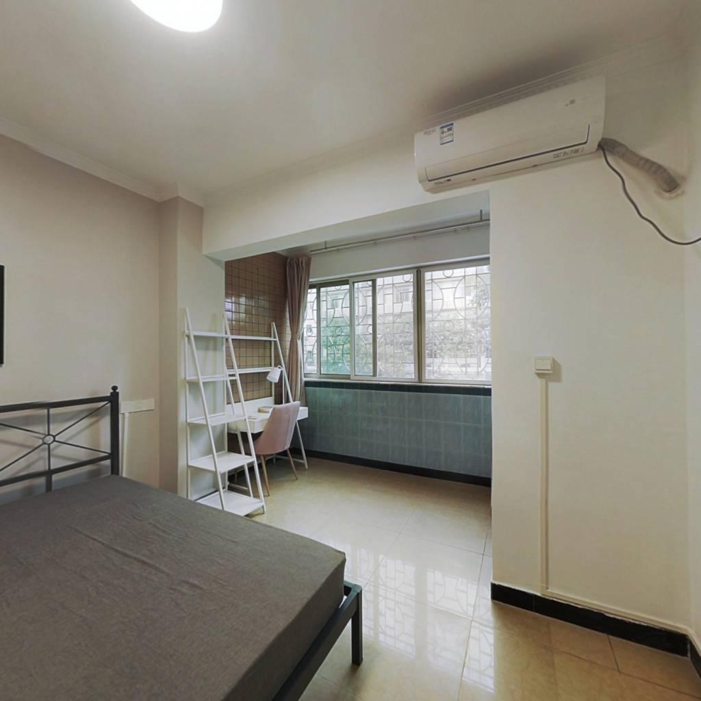 合租·员村公安宿舍 3室1厅 西卧室图