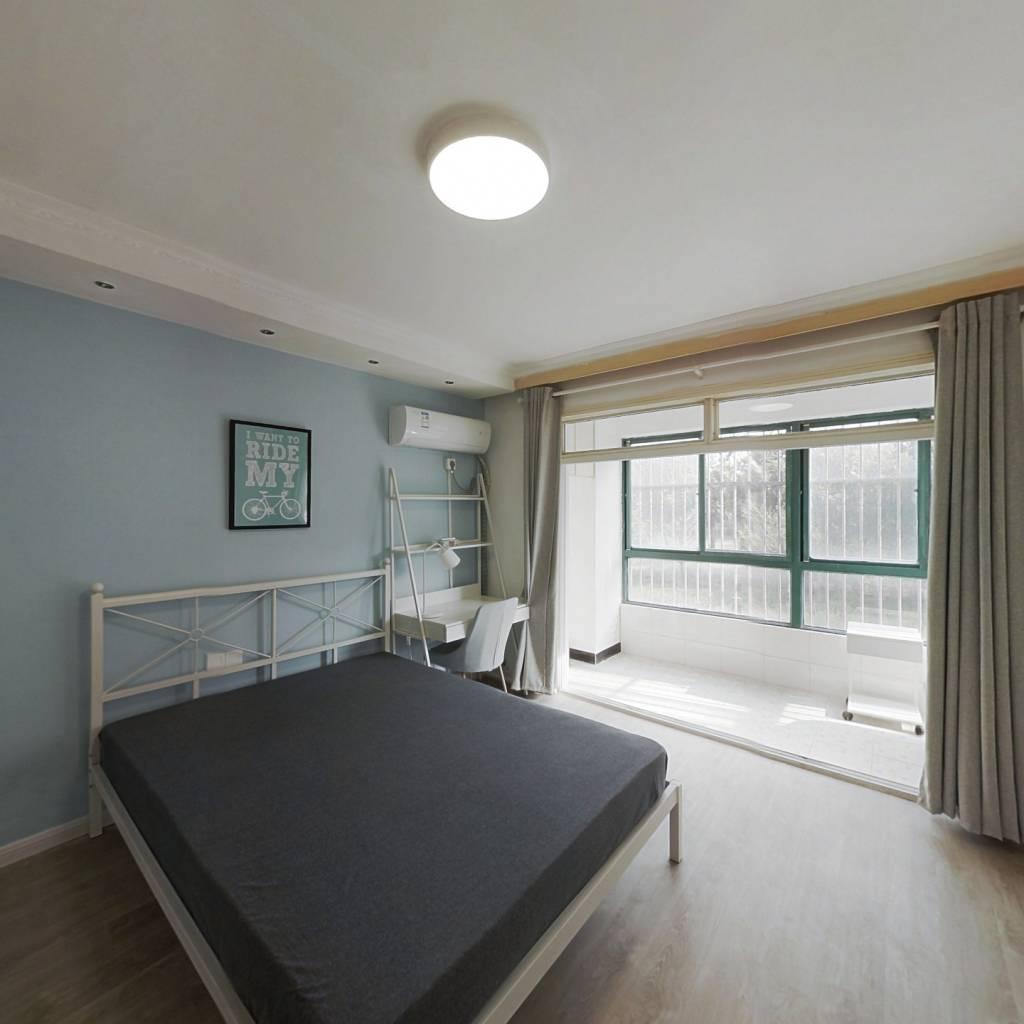 合租·双和园 4室1厅 南卧室图