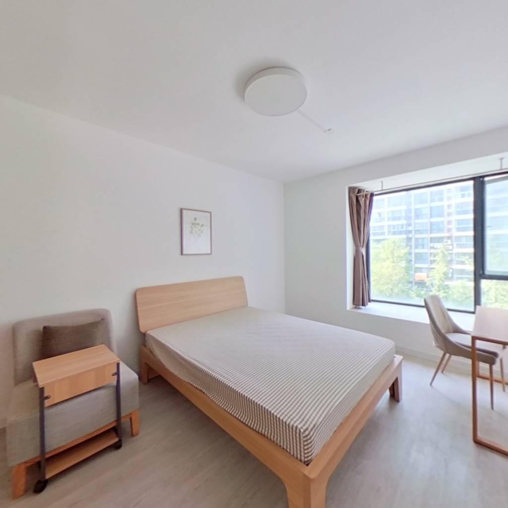 合租·元都新景公寓 3室1厅 南卧室图