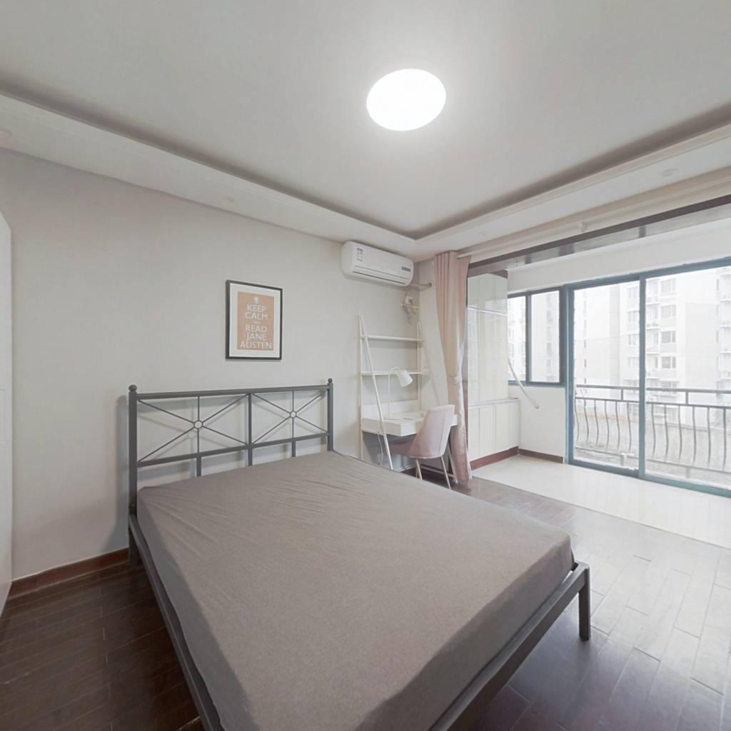 合租·广厦嘉苑 4室1厅 南卧室图