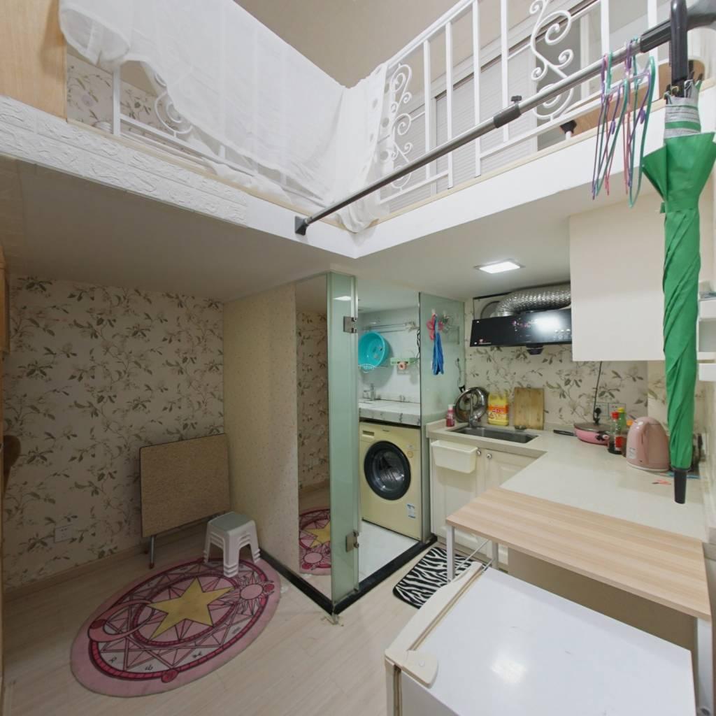 整租·城市3米6公寓 1室0厅 复式 南