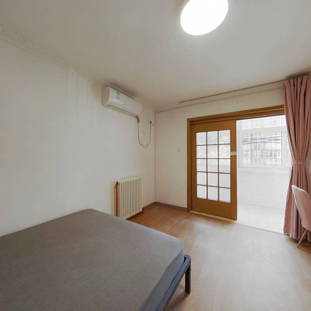 合租·青塔东里 2室1厅 北卧室图