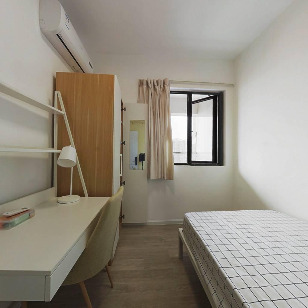 合租·中德英伦世邦K区 5室1厅 北卧室图