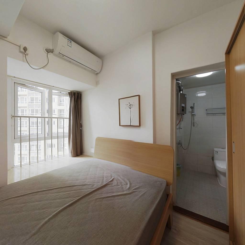 整租·蜜园 1室1厅 西南卧室图
