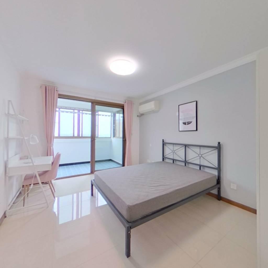 合租·协和家园 3室1厅 南卧室图