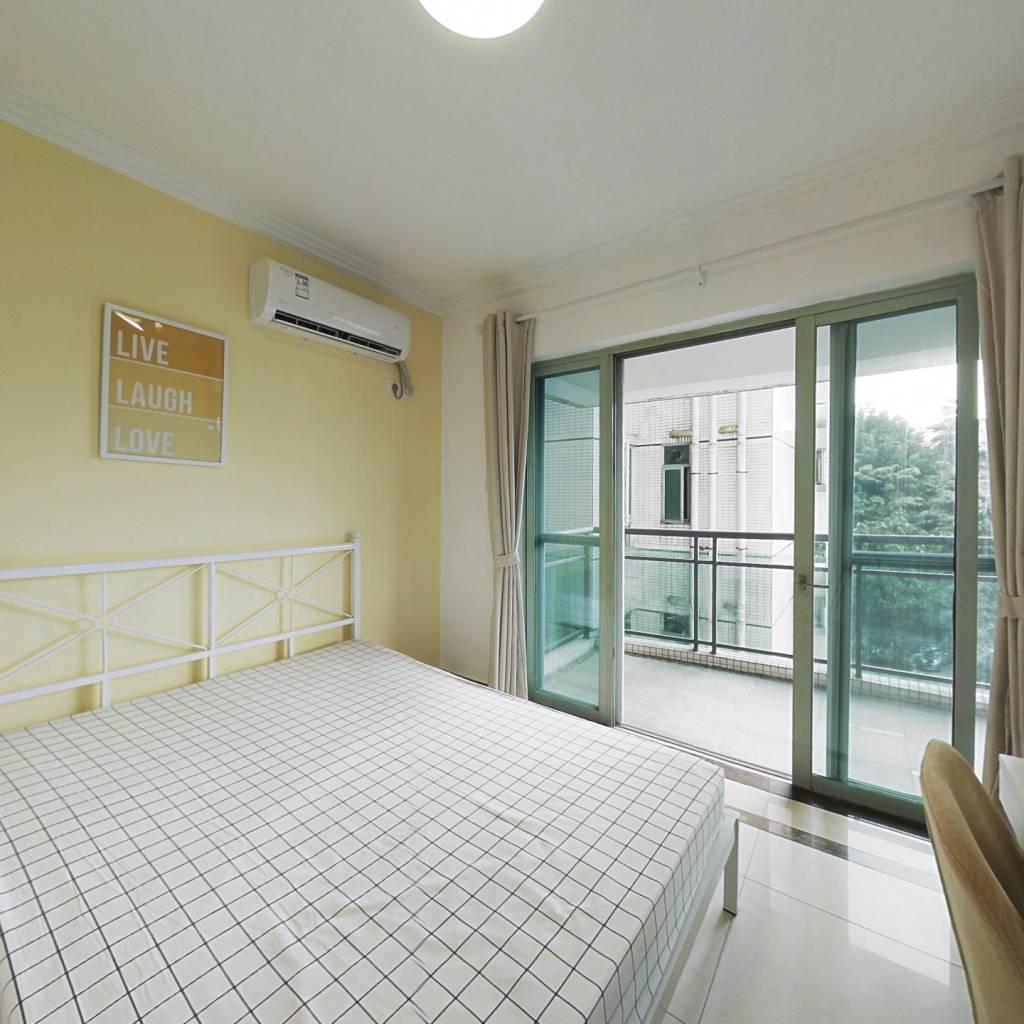 合租·富力桃园 3室1厅 西卧室图