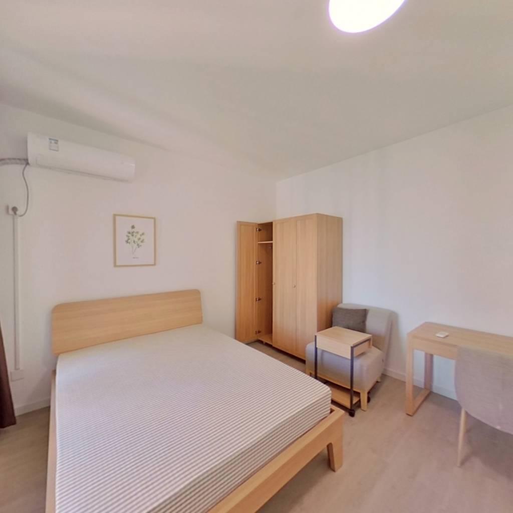 合租·比华利国际城一期 3室1厅 南卧室图