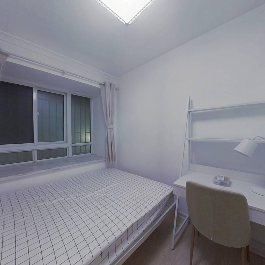 合租·云谷山庄 4室1厅 北卧室图