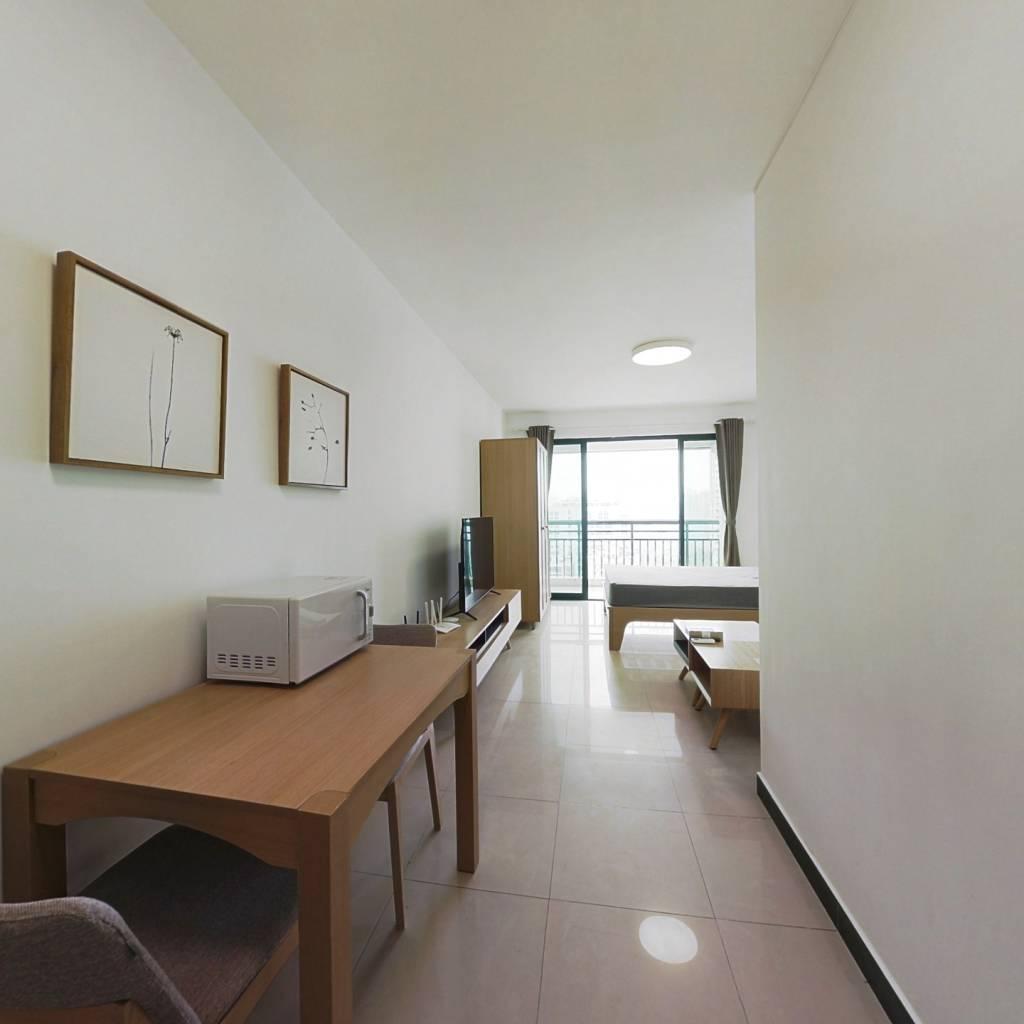 整租·麒麟花园A区 1室1厅 南卧室图