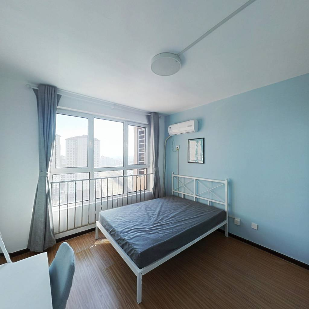 合租·雅仕兰庭 3室1厅 北卧室图