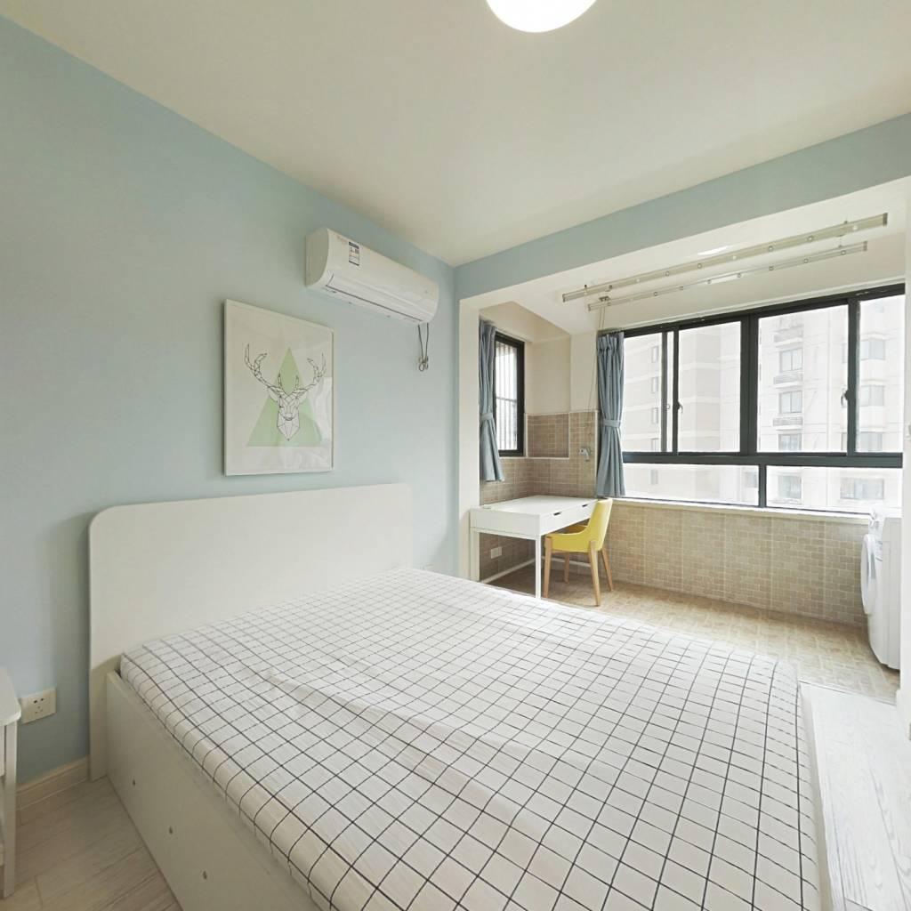 整租·龙盛佳苑 1室1厅 南卧室图