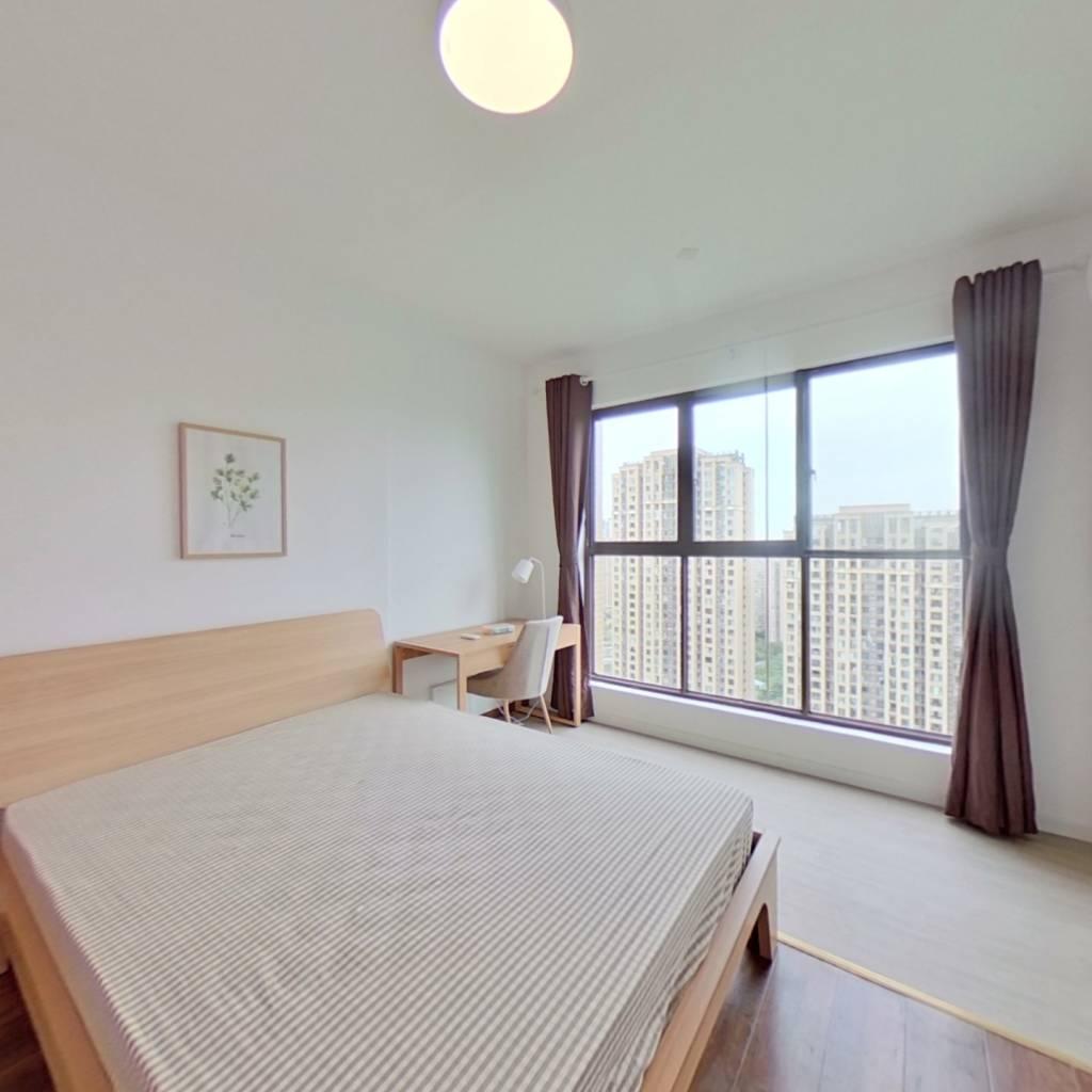 合租·成华奥园广场二期 4室1厅 西北卧室图