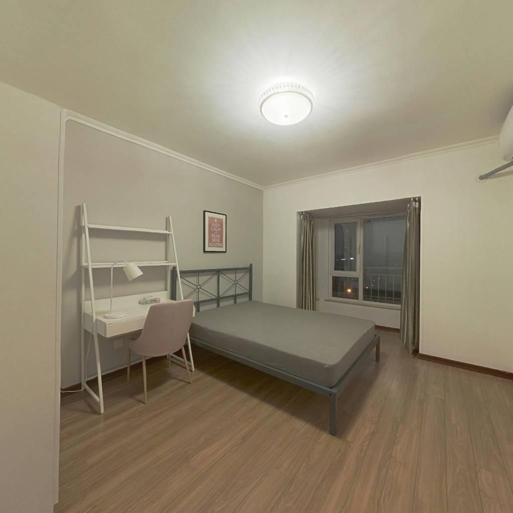 合租·润泽悦溪 3室1厅 北卧室图