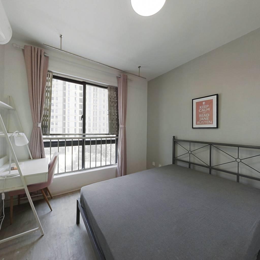 合租·云河南园 4室1厅 东卧室图