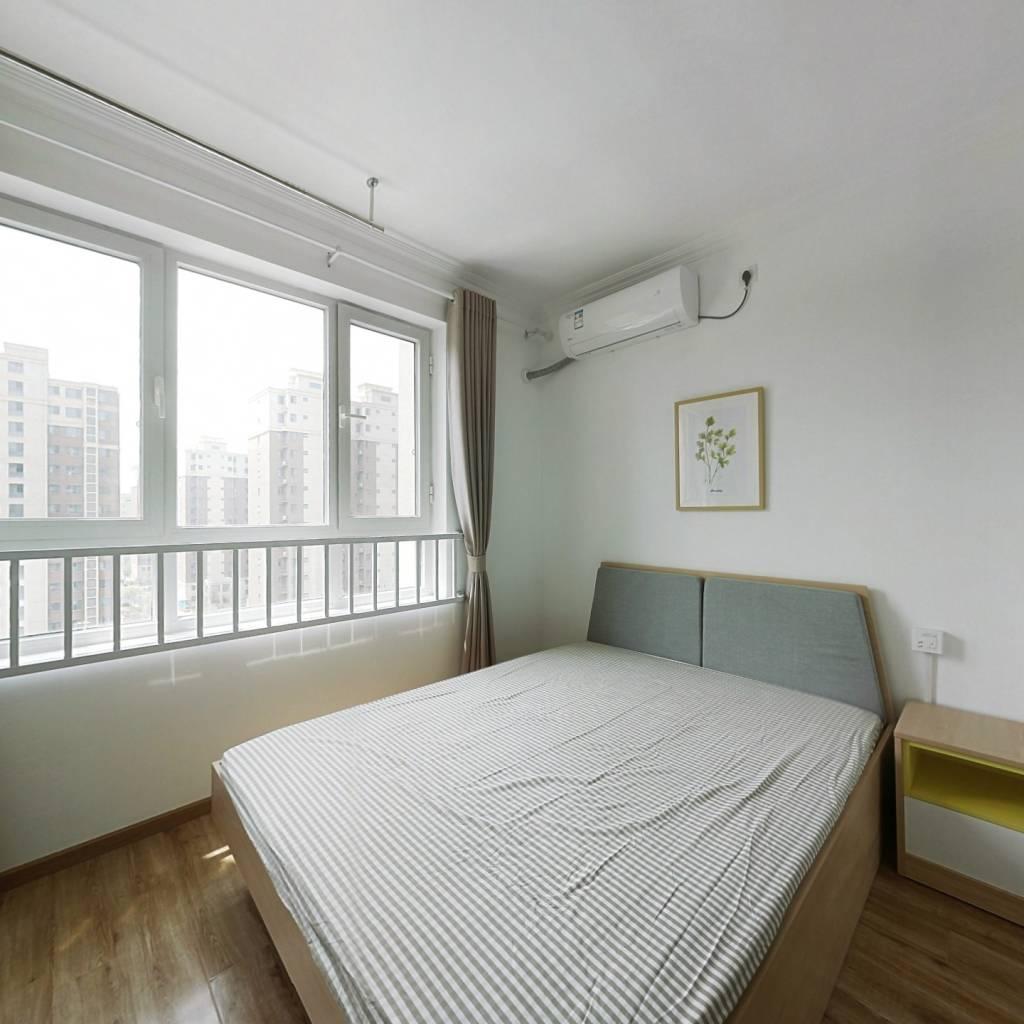 合租·安河家园 3室1厅 南卧室图