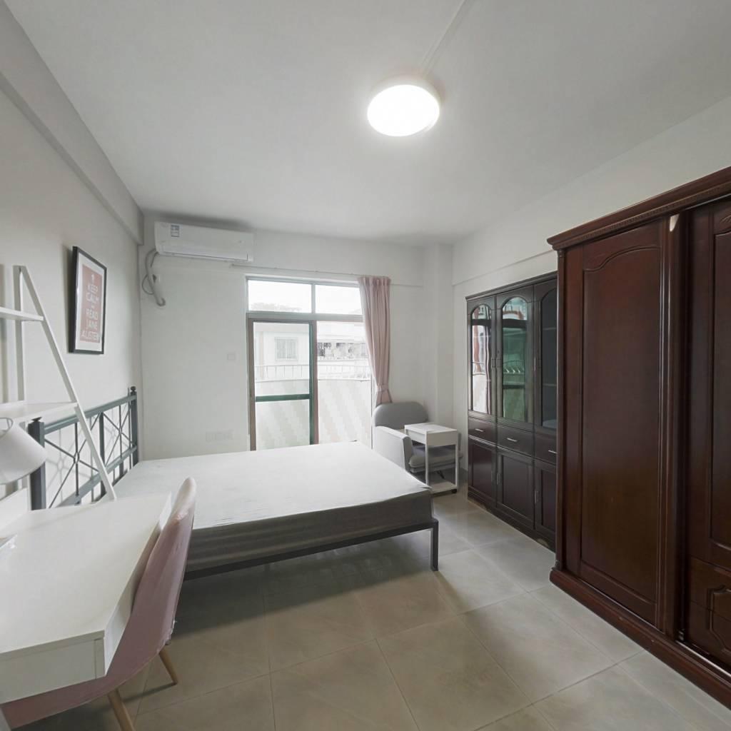 合租·东方花园又一村 4室1厅 南卧室图